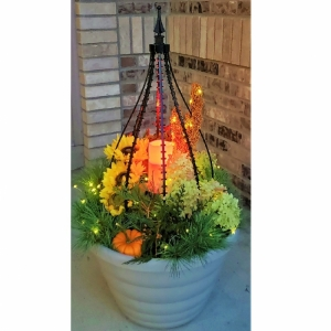 Add on Accessory:  Flameless Candle and Warm White Solar LED Lights