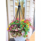 Decorative Planter Obelisk Trellis with Add-on Accessories