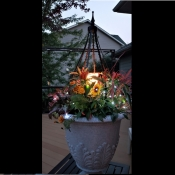 Add-on Accessory:  Flameless Candle and Bright White LED Lights